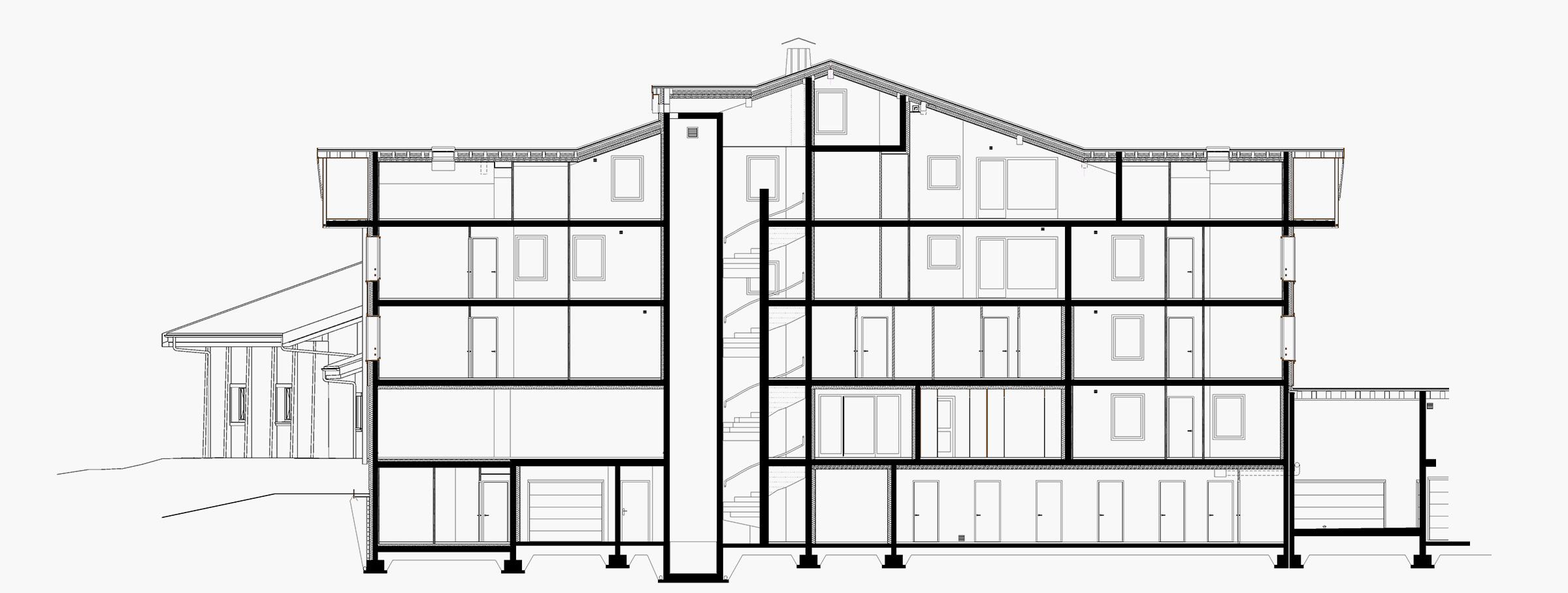 Bureau d'etude batiment Annecy - Plans techniques - Savoie Plan - Dessin technique de bâtiment
