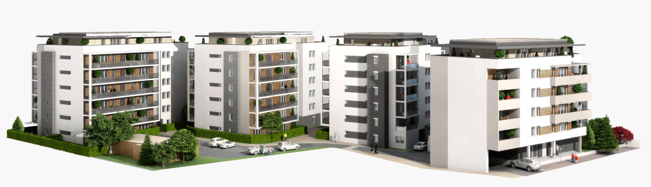 Plans pour logements collectifs Thonon-Les-Bains - Savoie Plan