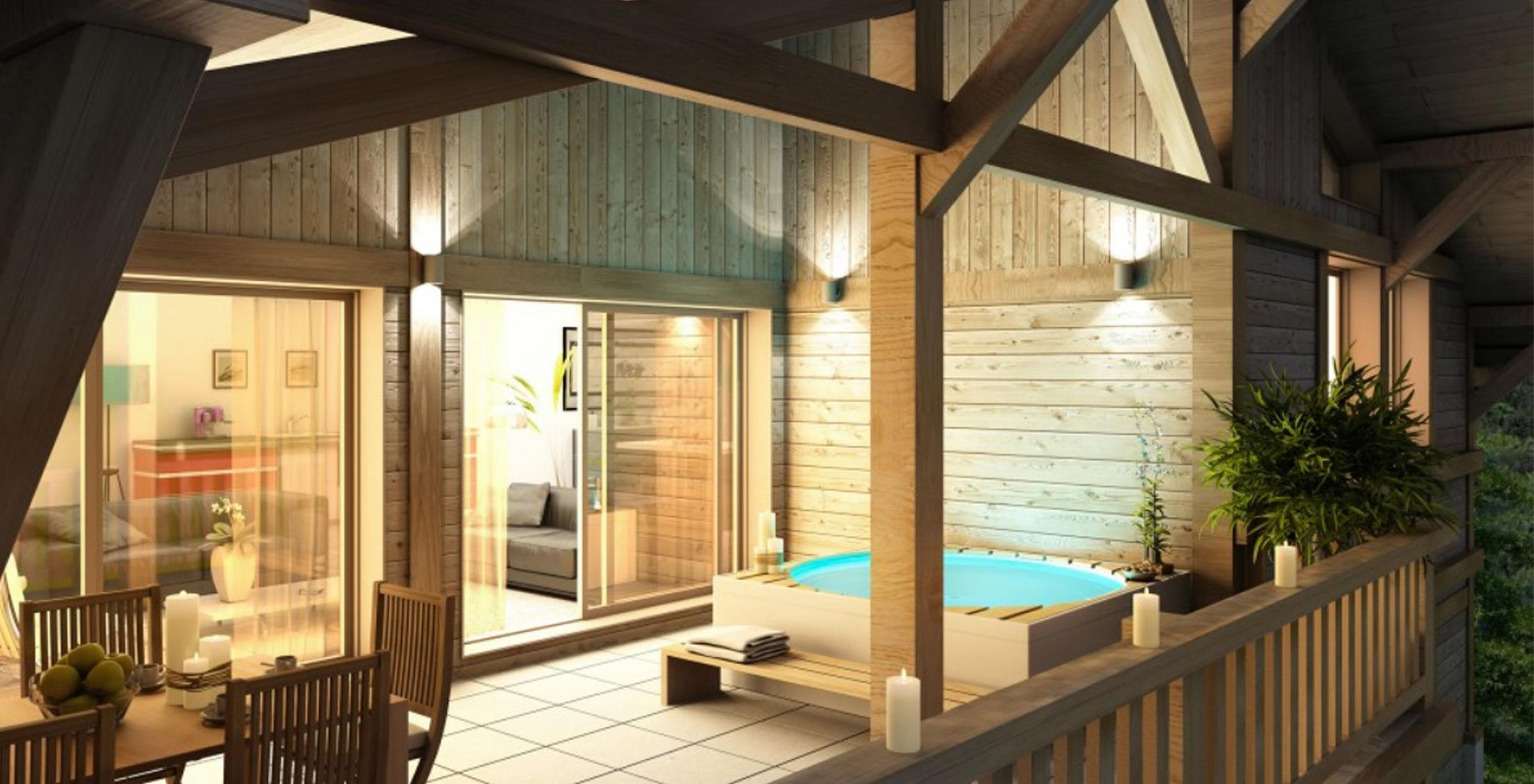 Plan pour maison ossature bois Annecy, Chambéry, Grenoble -Savoie Plan