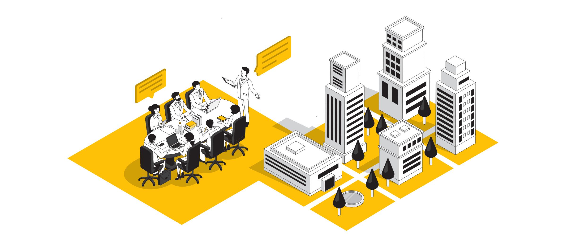 Illustration pribcipale de la page clients professionnels de Savoie Plan
