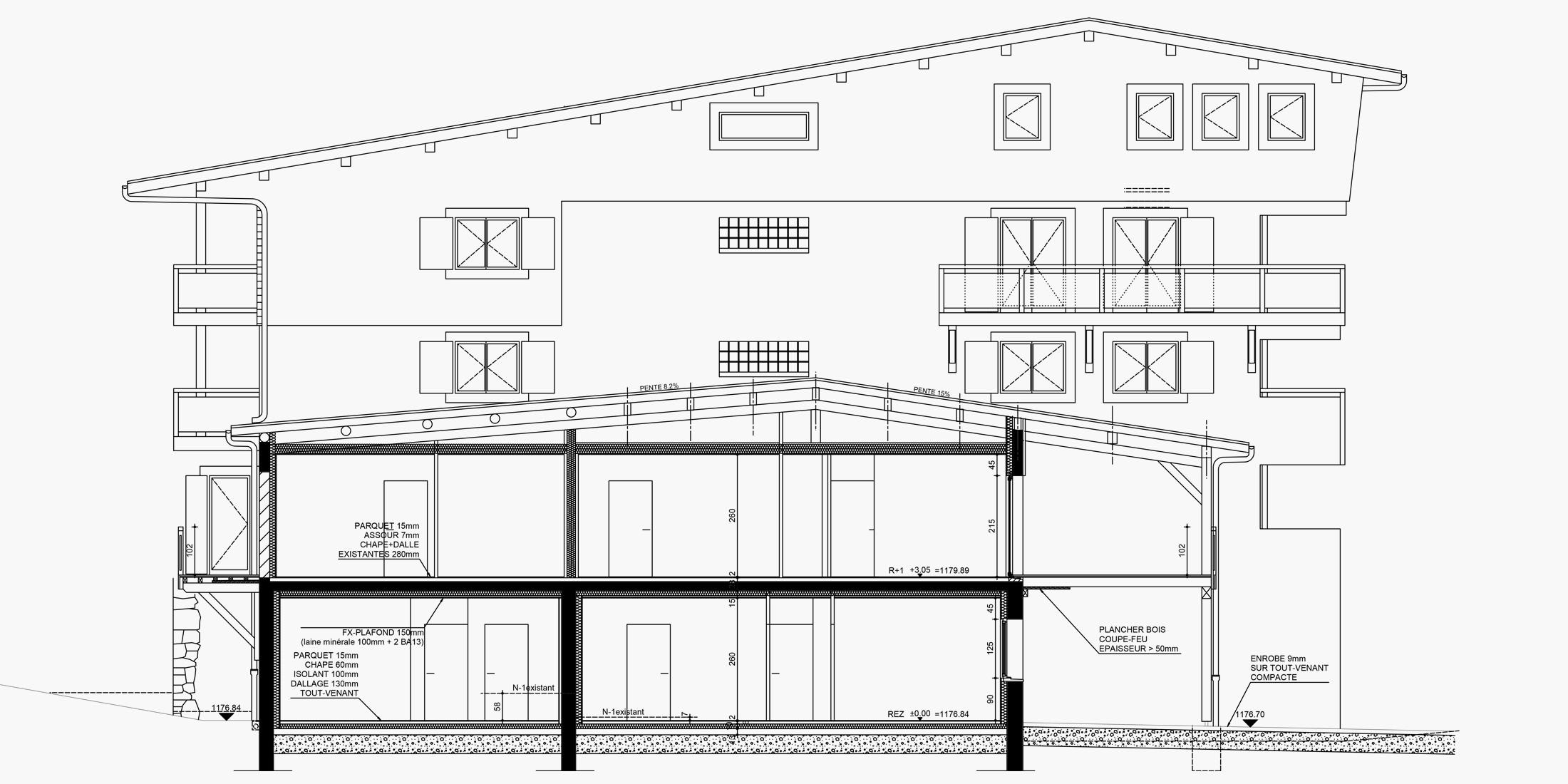 Plan de construction maison 2D et 3D, permis de construire - Savoie Plan