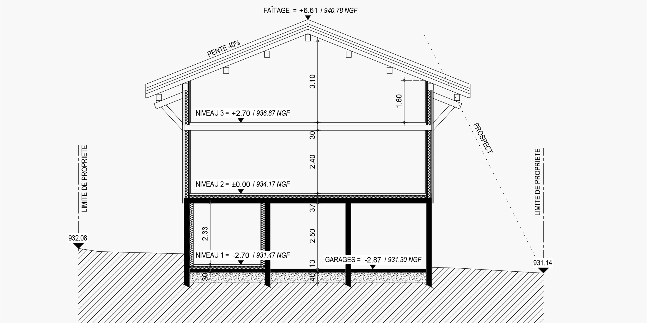 Construction garage Annecy, Chambéry, Aix-les-Bains, Rumilly - Savoie Plan